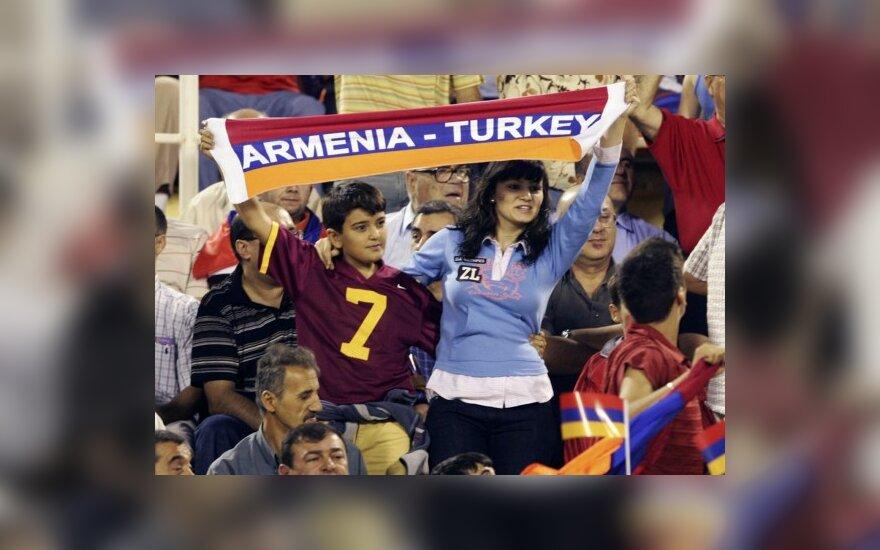 Turkija ir Armėnija sutarė dėl dvišalių santykių normalizavimo gairių