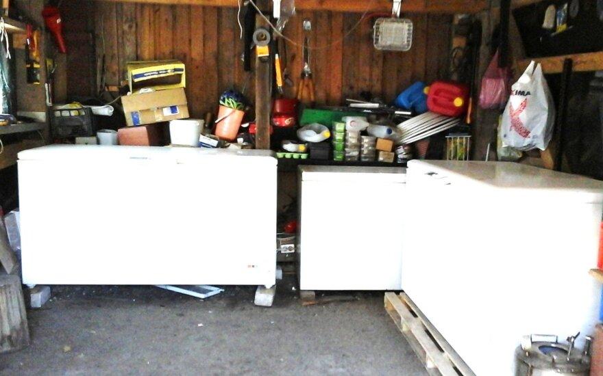 Pasvalio rajone sustabdyta nelegalaus mėsos perdirbimo cecho veikla