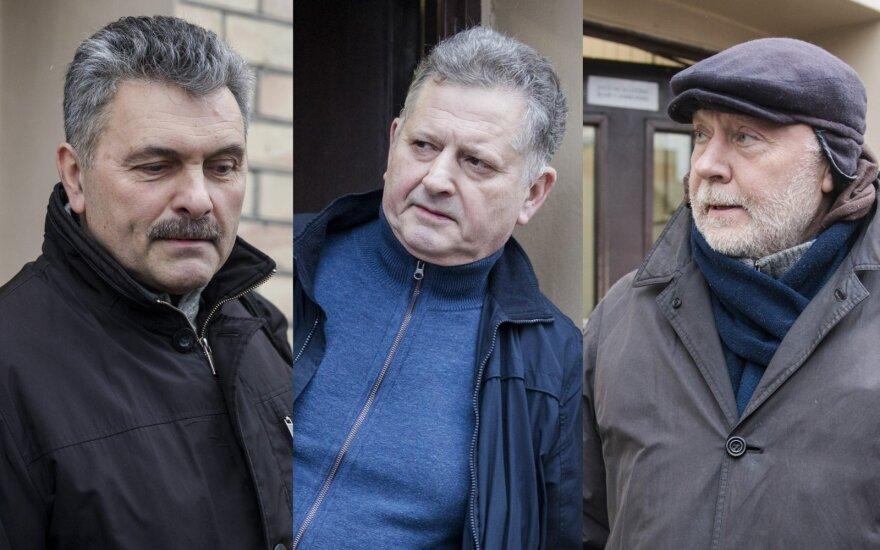 Henrichas Jaglinskis, Valdimaras Bavėjanas, Konstantinas Gurinas