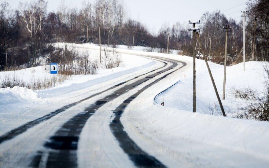 Keičiama žieminių padangų naudojimo tvarka