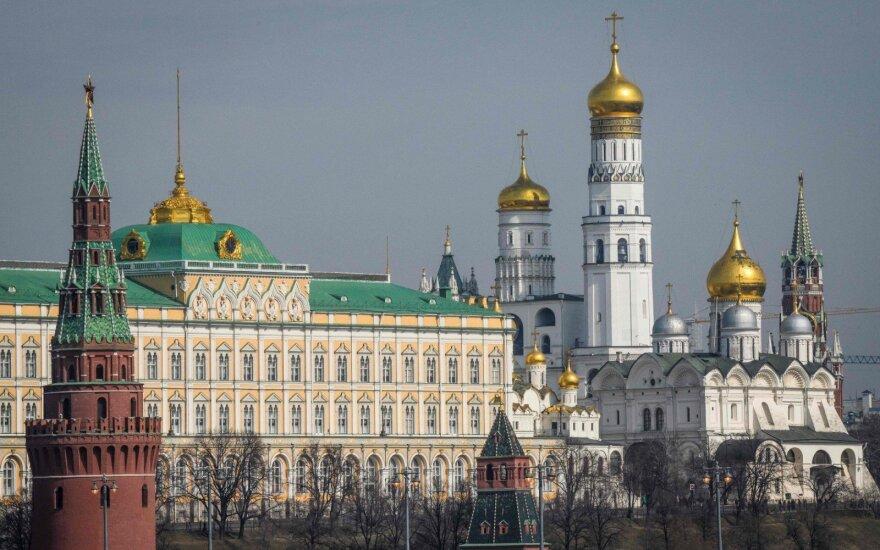 Maskvoje suimtas parduotuvės darbuotoją įkaitu laikęs vyras