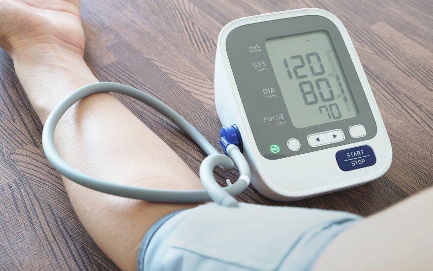 Pasitikrinkite kraujo spaudimą: koks yra idealiausias?