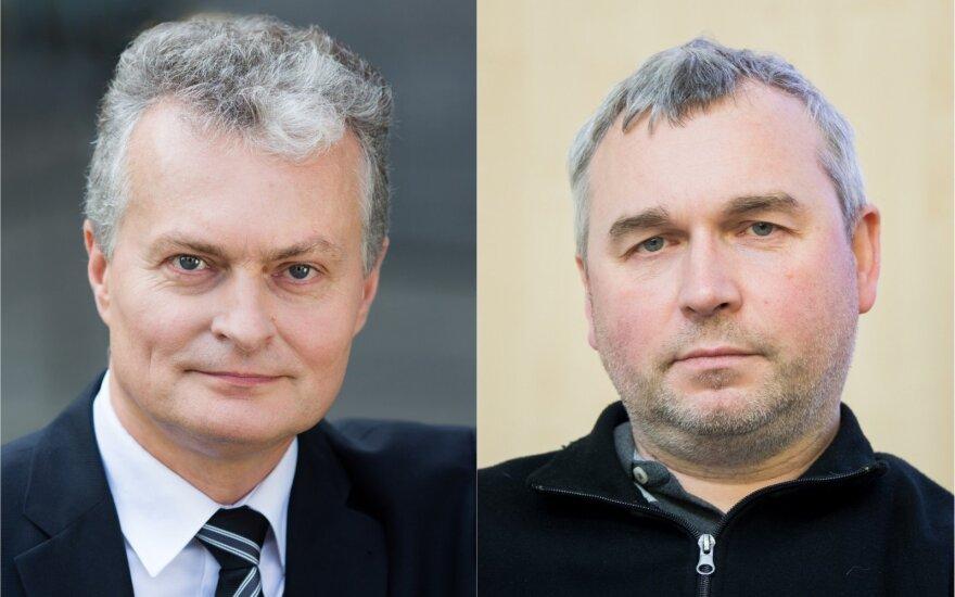 Gitanas Nausėda ir Raimondas Kuodis