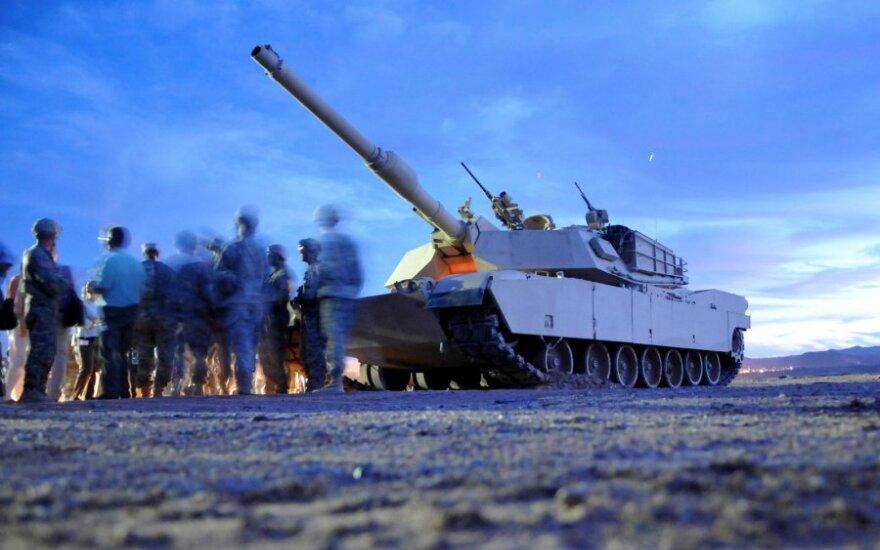Abrams tankas