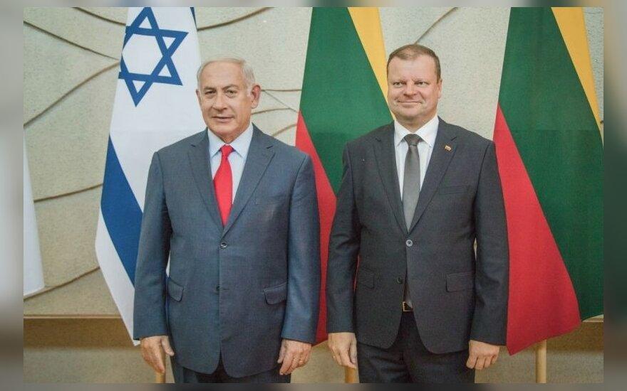 Benjamin Netanyahu, Saulius Skvernelis