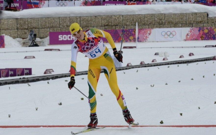 Vyrų 30 km skiatlono varžybos