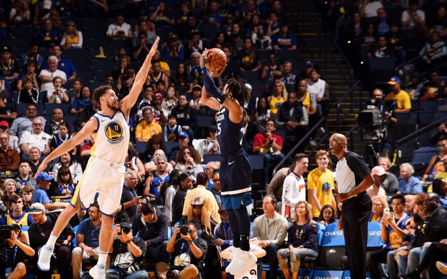 Klay Thompsonas, Derrickas Rose'as