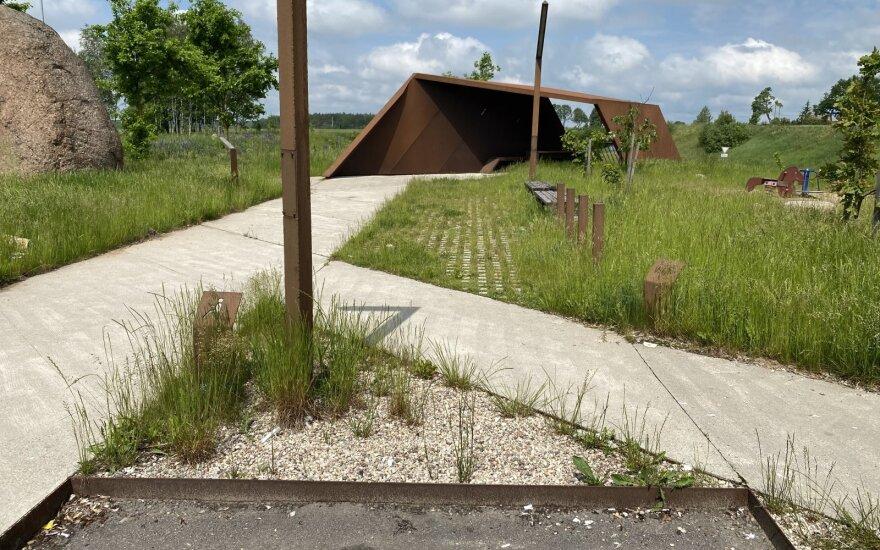 Tualetas prie A1 kelio.