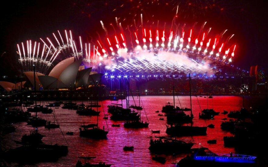 Naujieji metai Sidnėjuje