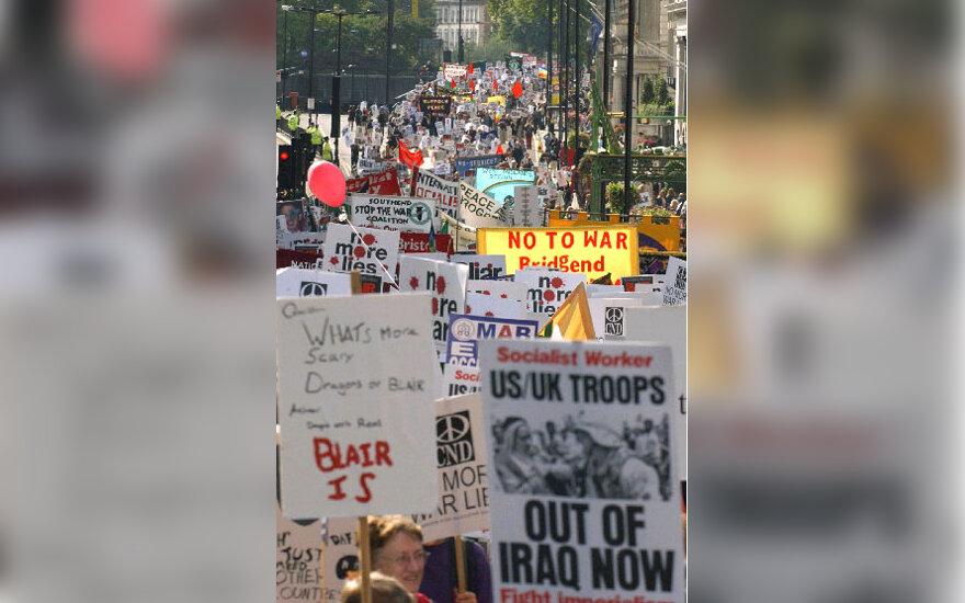 Demonstracija prieš Irako okupaciją