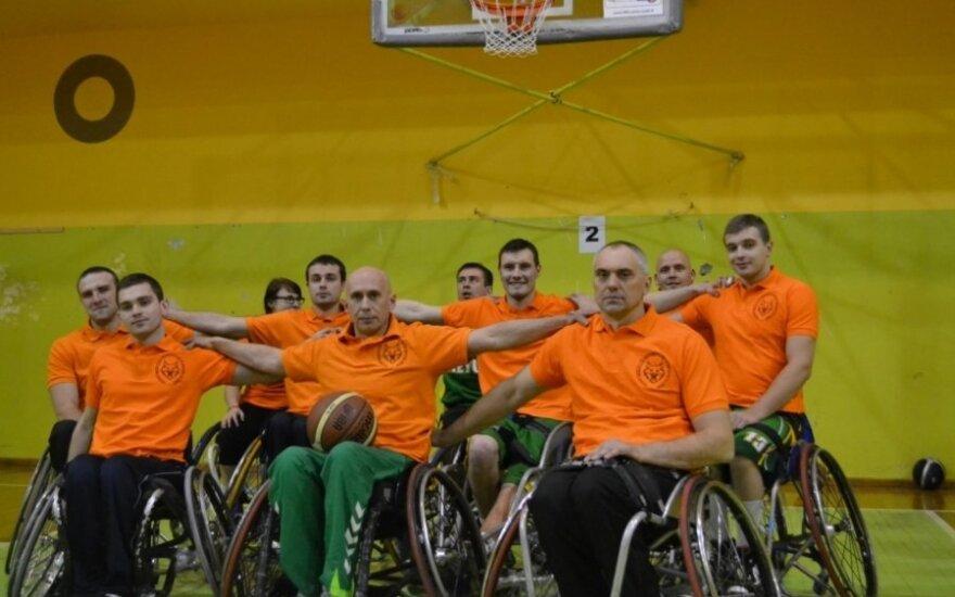 Lietuvos vežimėlių krepšinio komanda