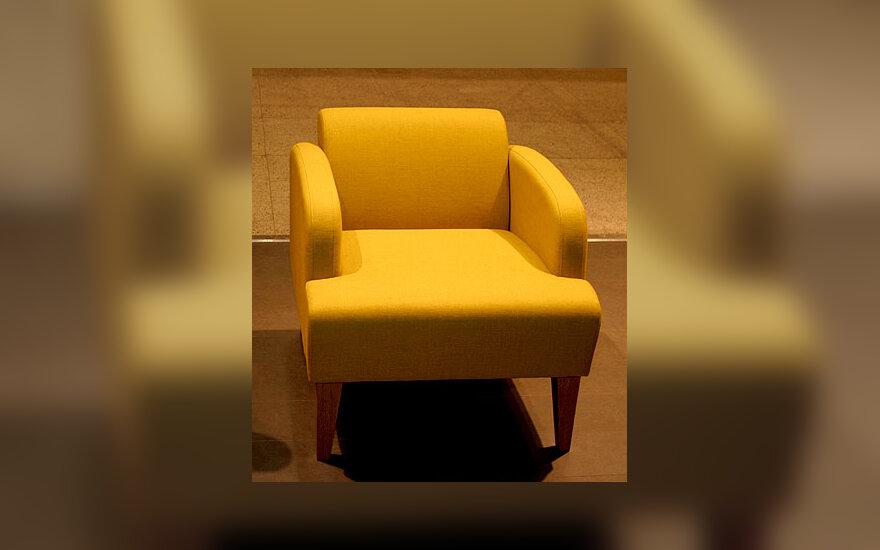 Fotelis, baldai, interjeras