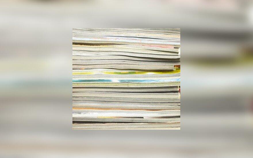 spauda, žurnalai, skaitymas