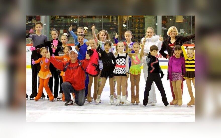 Jaunieji dailiojo čiuožimo sportininkai