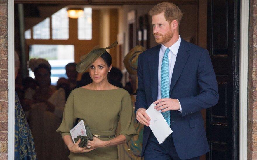Meghan Markle ir princo Harry šeimą papildė naujas narys: gerbėjai laukia oficialaus pristatymo