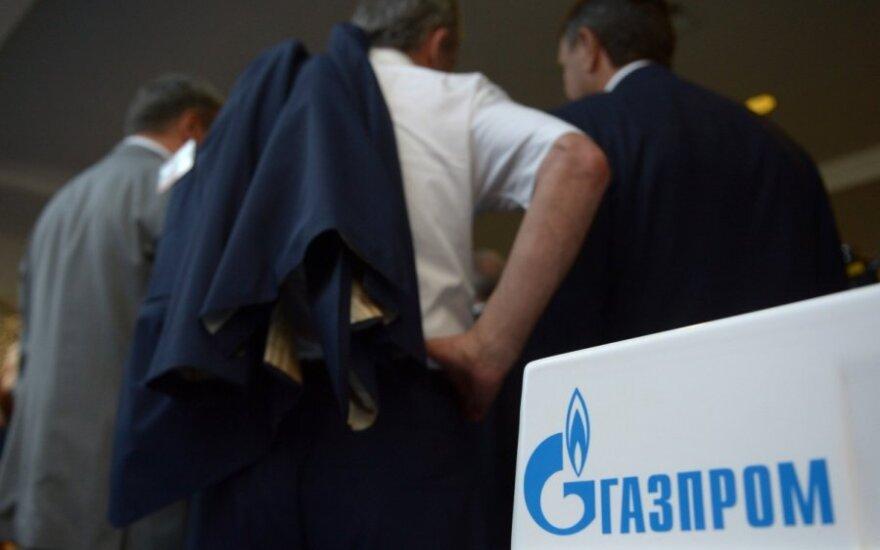 """Konkurencijos taryba pratęsė """"Gazprom"""" veiklos Lietuvoje tyrimą"""