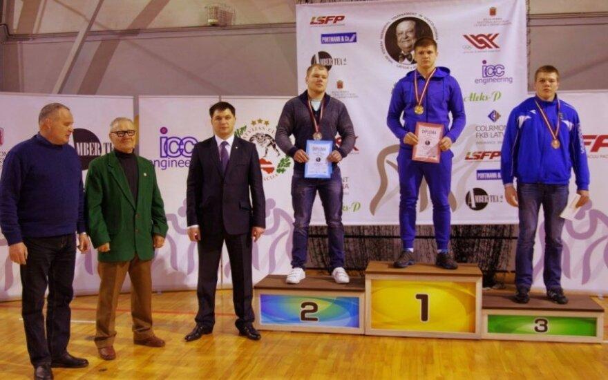 Vilius Laurinaitis užėmė pirmą vietą