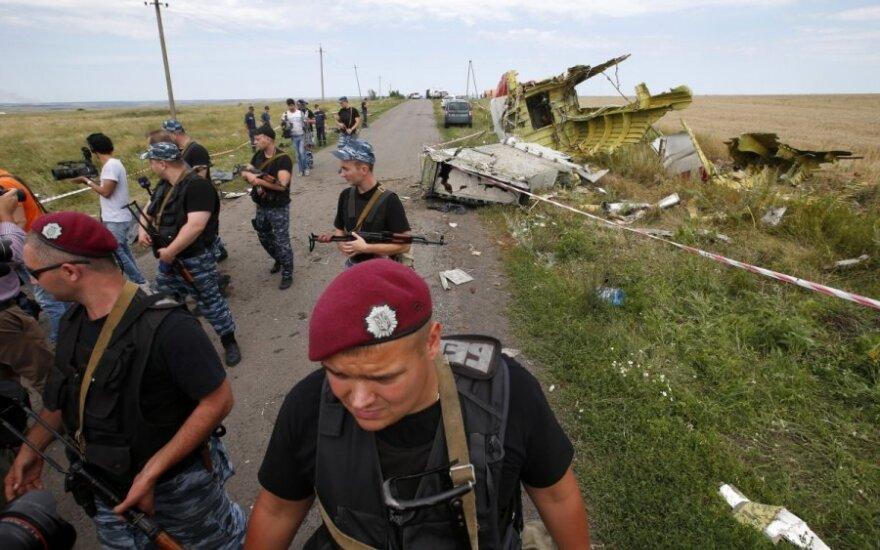Ukraina: separatistai iš tikrųjų taikėsi į Rusijos lėktuvą