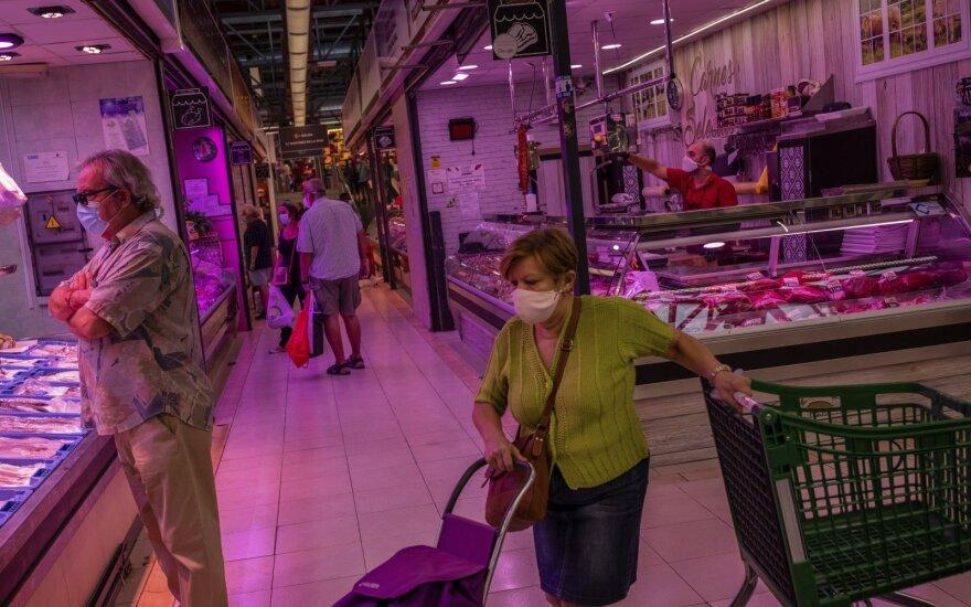 Iš Ispanijos – nauji koronaviruso krizės ženklai