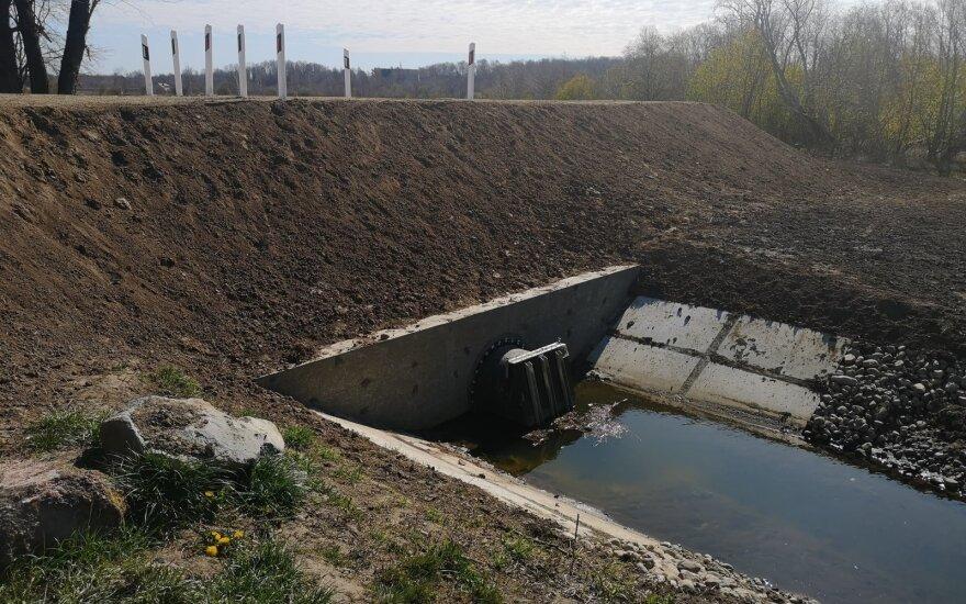 Rekonstruotas Purmalių pylimas: gyventojai bus apsaugoti nuo potvynių