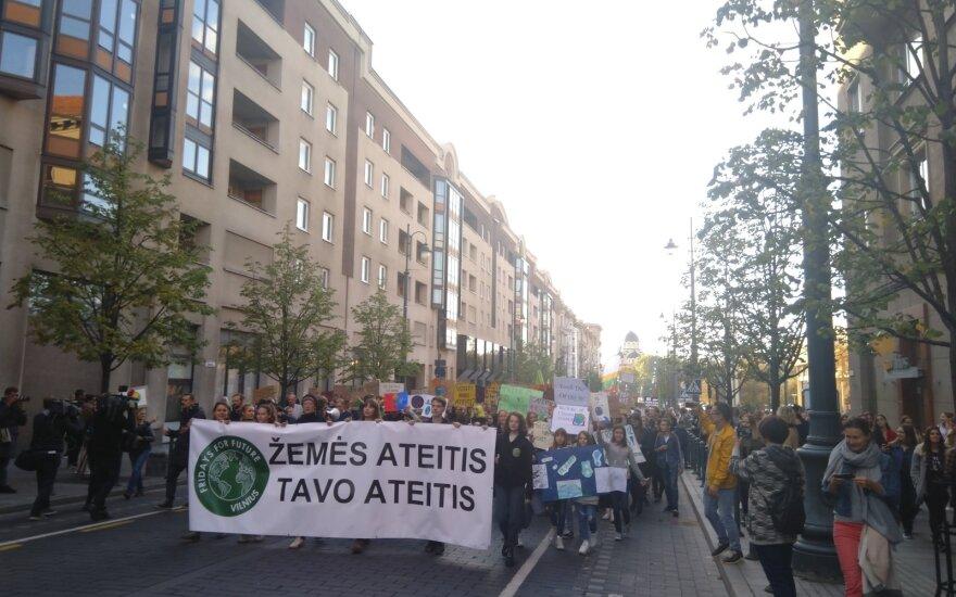 Protestas dėl klimato kaitos