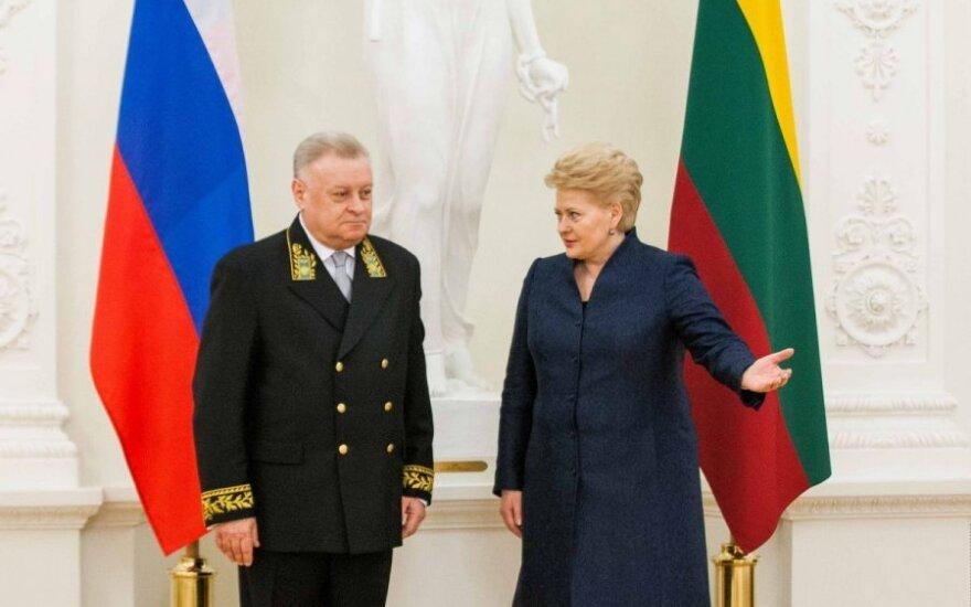 Rusijos ambasadorius: D. Grybauskaitė pasirinko kitą kelią