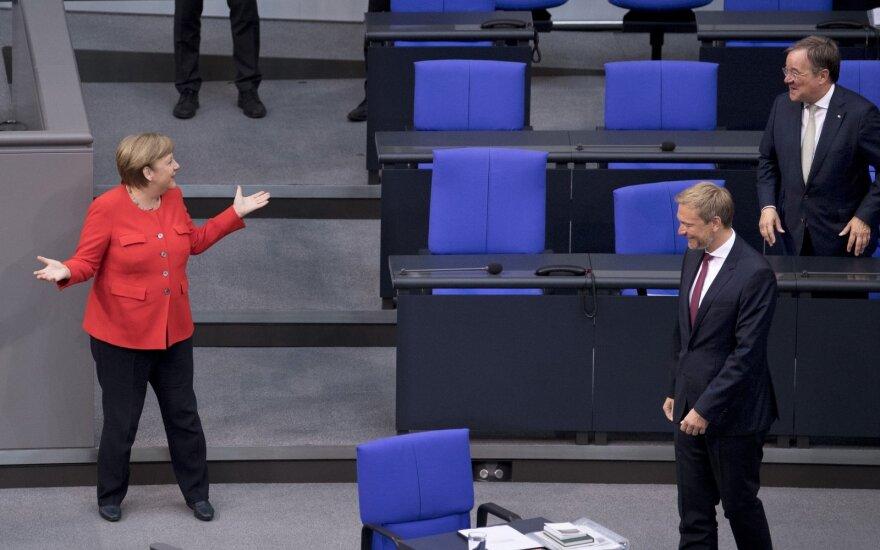 Angela Merkel, Christianas Lindneris, Arminas Laschetas