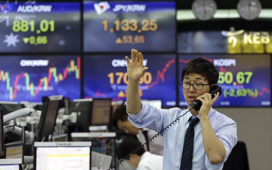 """""""Biržos laikmatis"""": į akcijų biržas grįžo optimizmas"""