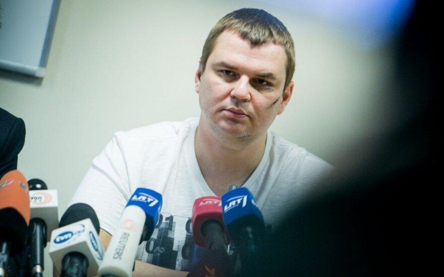 Ar tikrai Lietuvoje gydomas Ukrainos aktyvistas D. Bulatovas išvyks į Vokietiją?