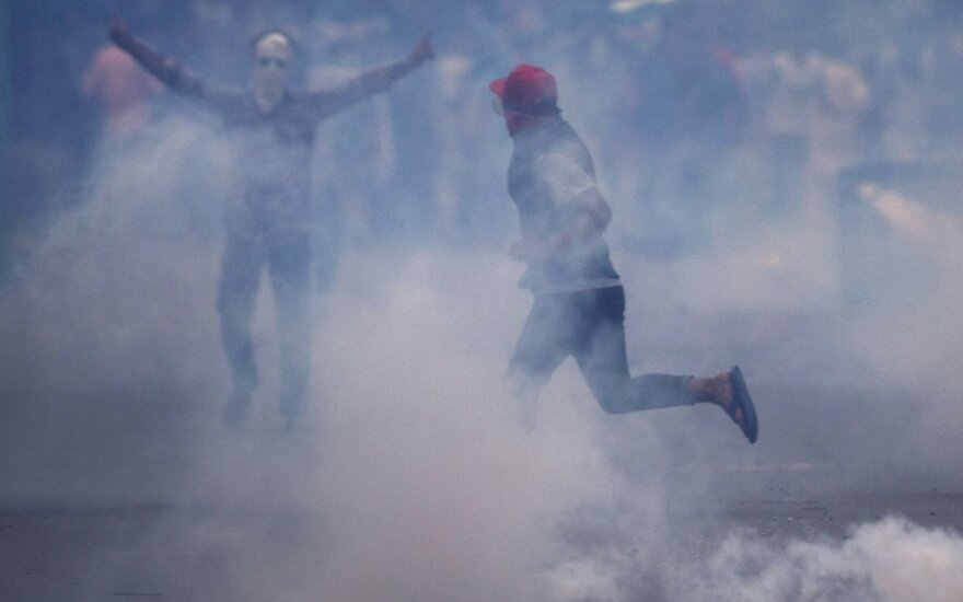 Protestai Kašmyre