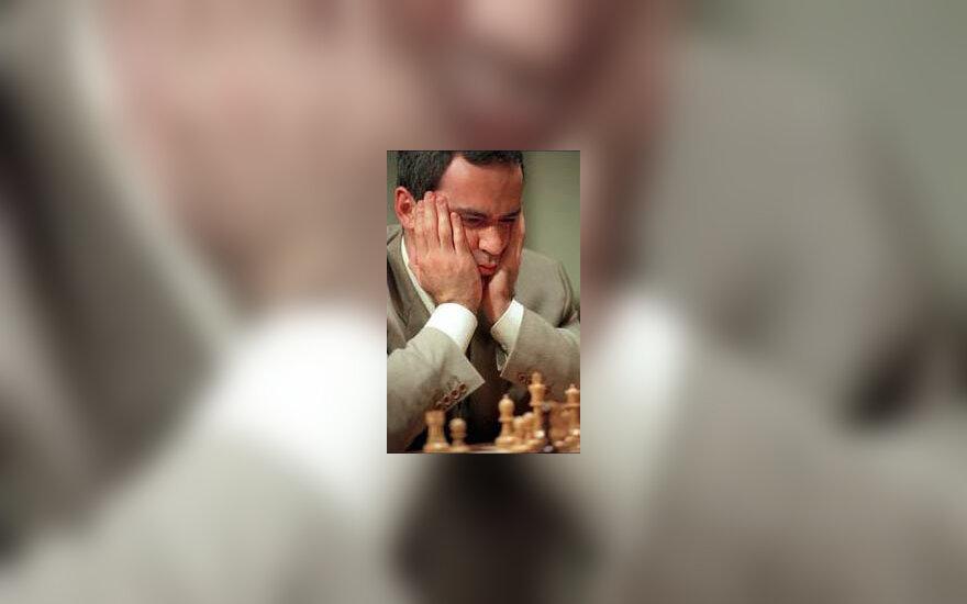Garis Kasparovas - šiuo metu pats geriausias planetos šachmatininkas