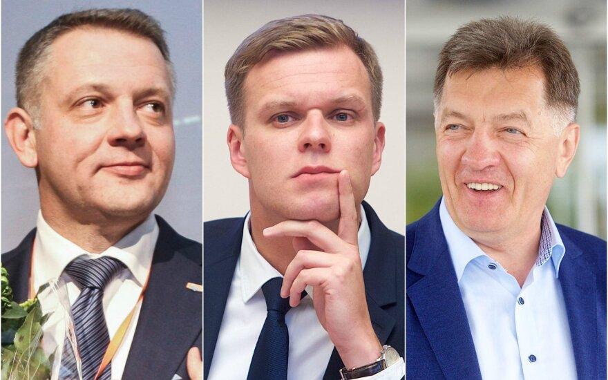 Eligijus Masiulis, Gabrielius Landsbergis ir Algirdas Butkevičius