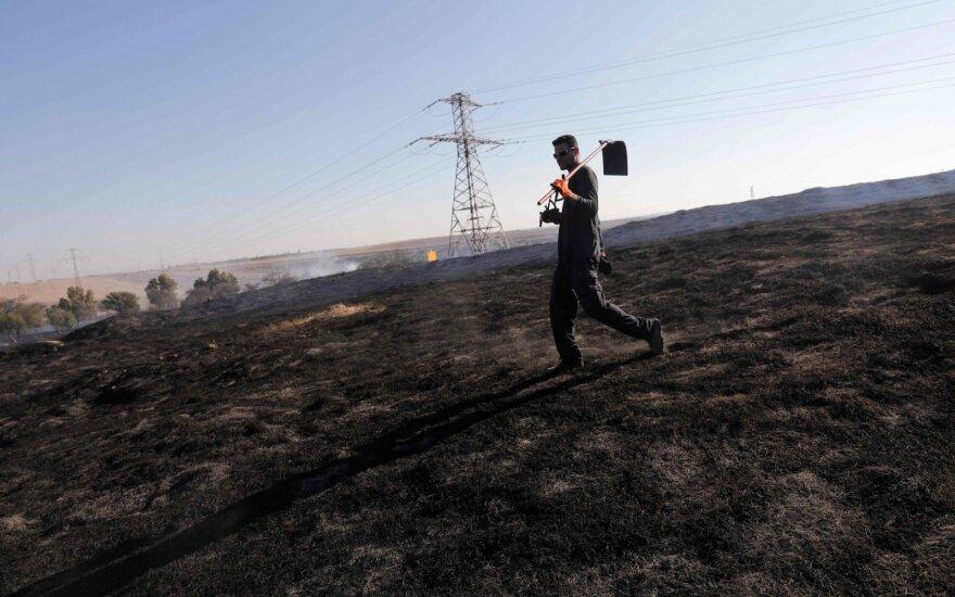 Po penkių palestiniečių žūties iš Gazos Ruožo į Izraelį paleista raketų