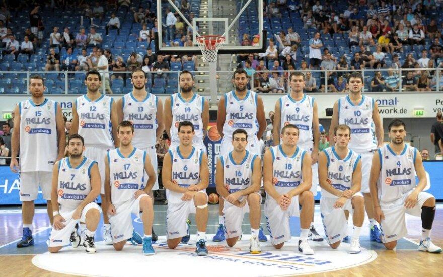 Graikijos vyrų krepšinio rinktinė
