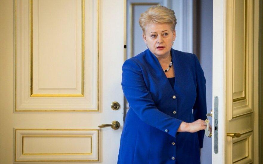 Politologas: dėl viceministrų prezidentė kalba tuščiai