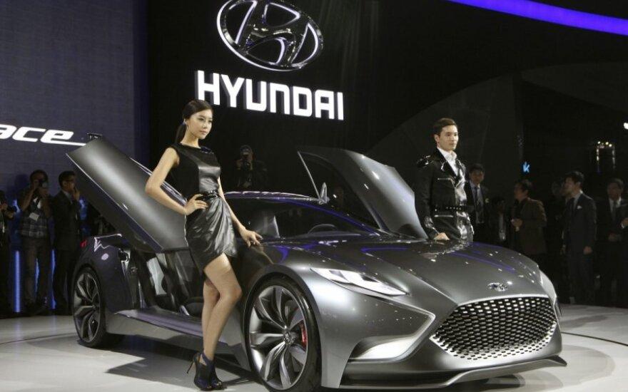 """""""Hyundai Motor"""" pelnas sumažėjo 15 proc."""