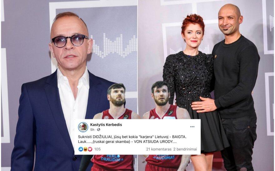 K. Kerbedis, K. ir D. Lavrinovičiai, J. ir E. Didžiuliai / Foto: Delfi, Fotodiena