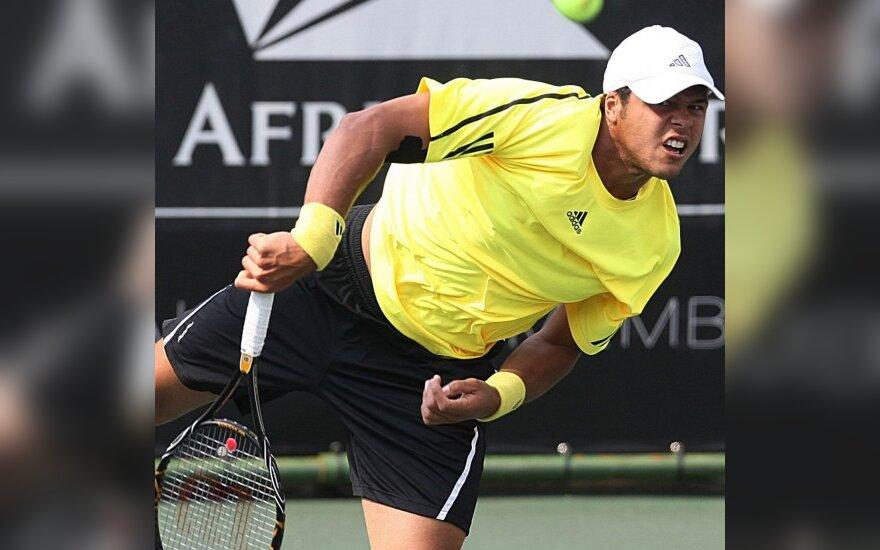 Prancūzijos tenisininkų finalą PAR laimėjo J-W. Tsonga