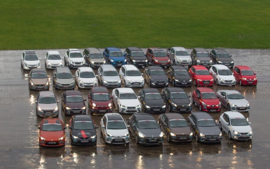 Metų automobilis 2013 dalyviai