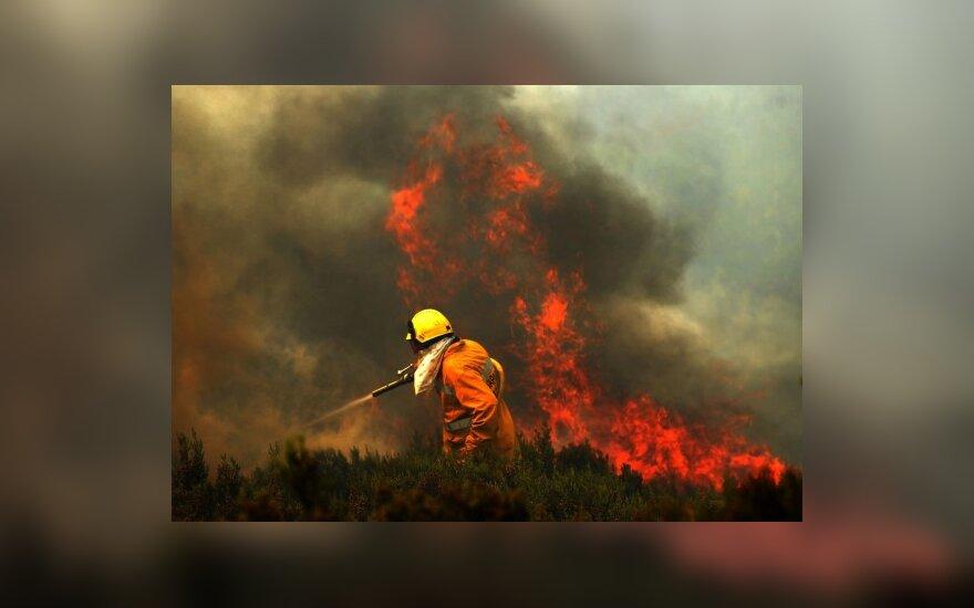 ES pagalba gaisrų nusiaubtai Rusijai – 90 000 eurų