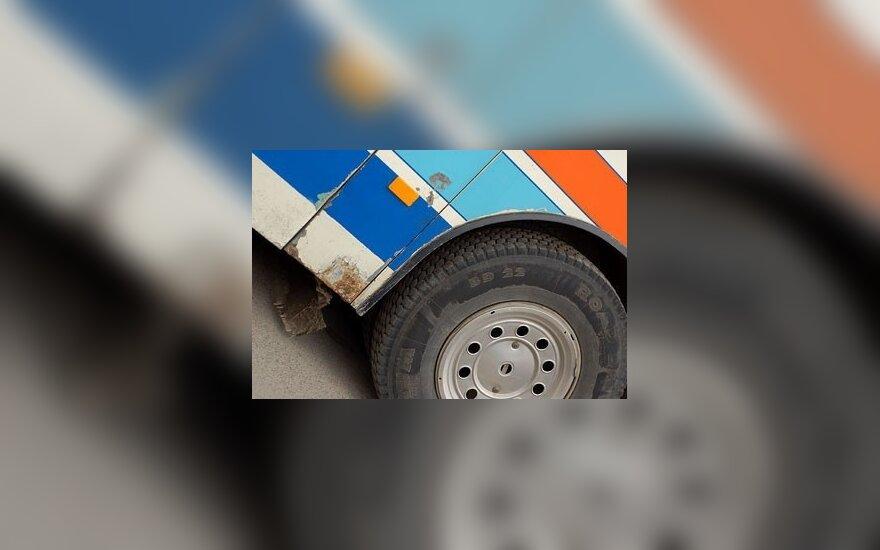 Vokietijoje per lenkų autobuso avariją sužeista 14 žmonių