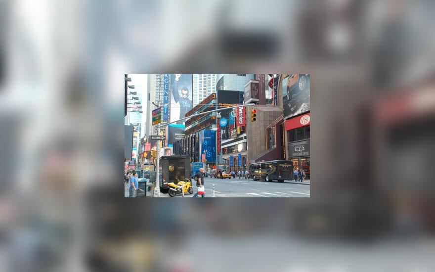 Times skveras Niujorke