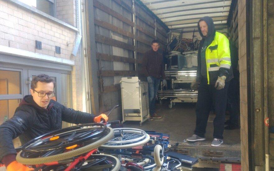 Belgijos lietuvių siunčiama parama Lietuvos ligoninėms