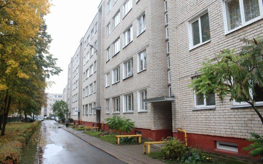 Panevėžys, Danutės g.,namas, kuriame buvo įkalinta mergina