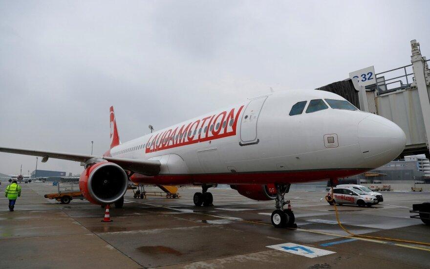 Londono Stanstedo oro uoste per incidentą nesunkiai sužeisti aštuoni žmonės