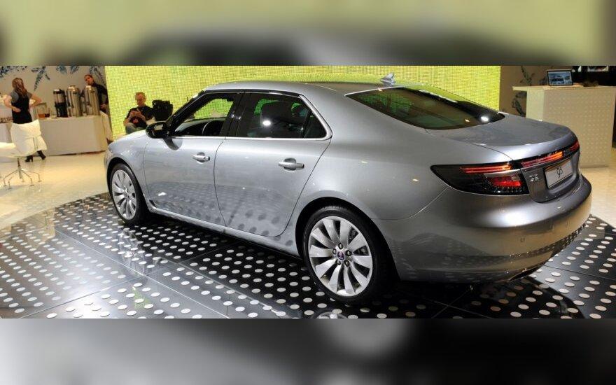 """""""Saab"""" tikisi atnaujinti gamybą kitą savaitę"""