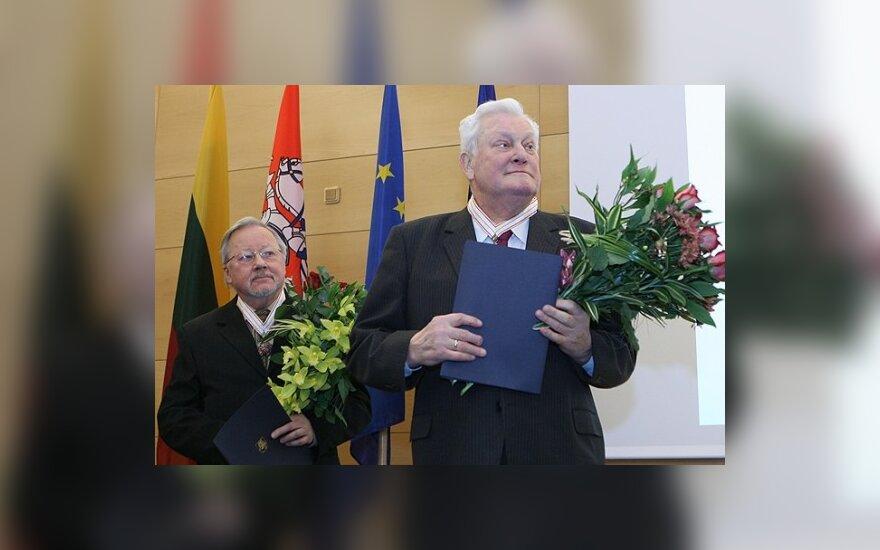 Vytautas Landsbergis ir Algirdas Mykolas Brazauskas