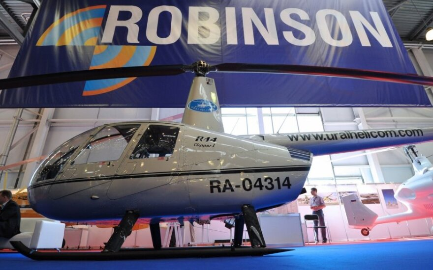 "Sraigtasparnis ""Robinson R44"""