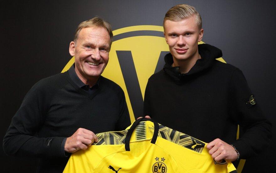 Erlingas Haalandas keliasi į Dortmundą