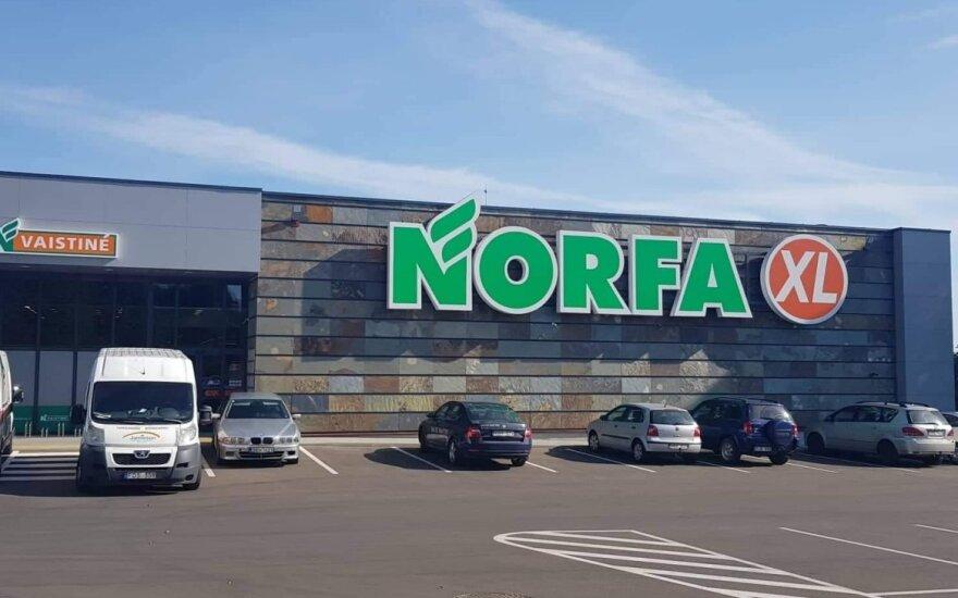"""""""Norfa"""" gali svarstyti apriboti būtiniausių prekių pardavimų kiekius vienam žmogui"""
